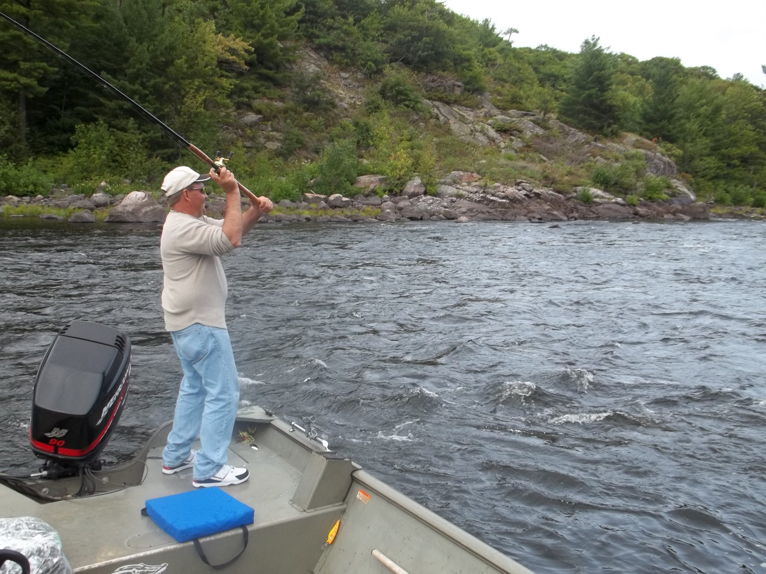 Pike Fishing French River