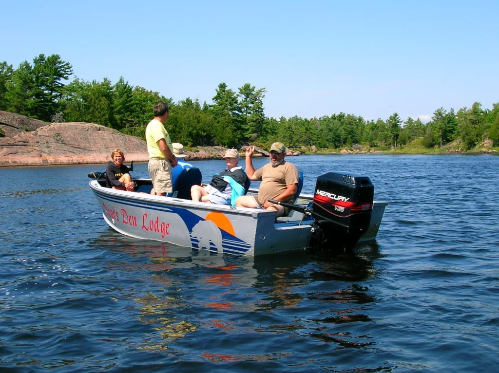 French River Park guided service by Art Barefoot fishing and family vaction