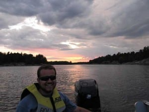 French River guide and photographer Joe Barefoot, M.B.