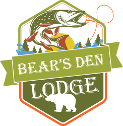 Bear's Den Lodge Logo, Fishing French River