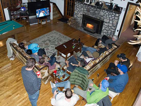 Corporate Retreat French River Provincial Park lodge