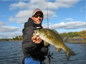 September fishing french river wilderness Ontario expereince