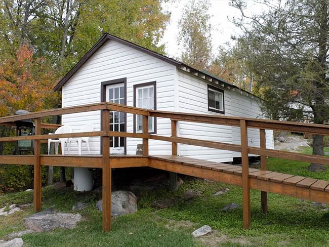 birches - Fishing French River Bear's Den Lodge