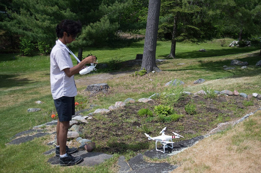 Drone Photography, Drone Landscaping, Architecture, Surveillance, French River, Bear's Den Lodge