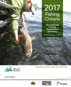 French River Fishing, Ontario Fishing Regulations, Canada 150, MNRF, Ontario Fishing Licenses