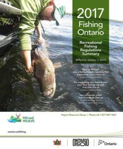 French River Fishing, Ontario Fishing Regulations, Canada 150, MNRF, Ontario Fishing Licenses