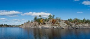 The French River S-Turn in Fall Colours North of Toronto Northern Ontario150