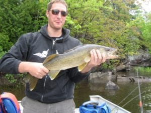 Fishing Canada French River Ontario Walleye Pickerel