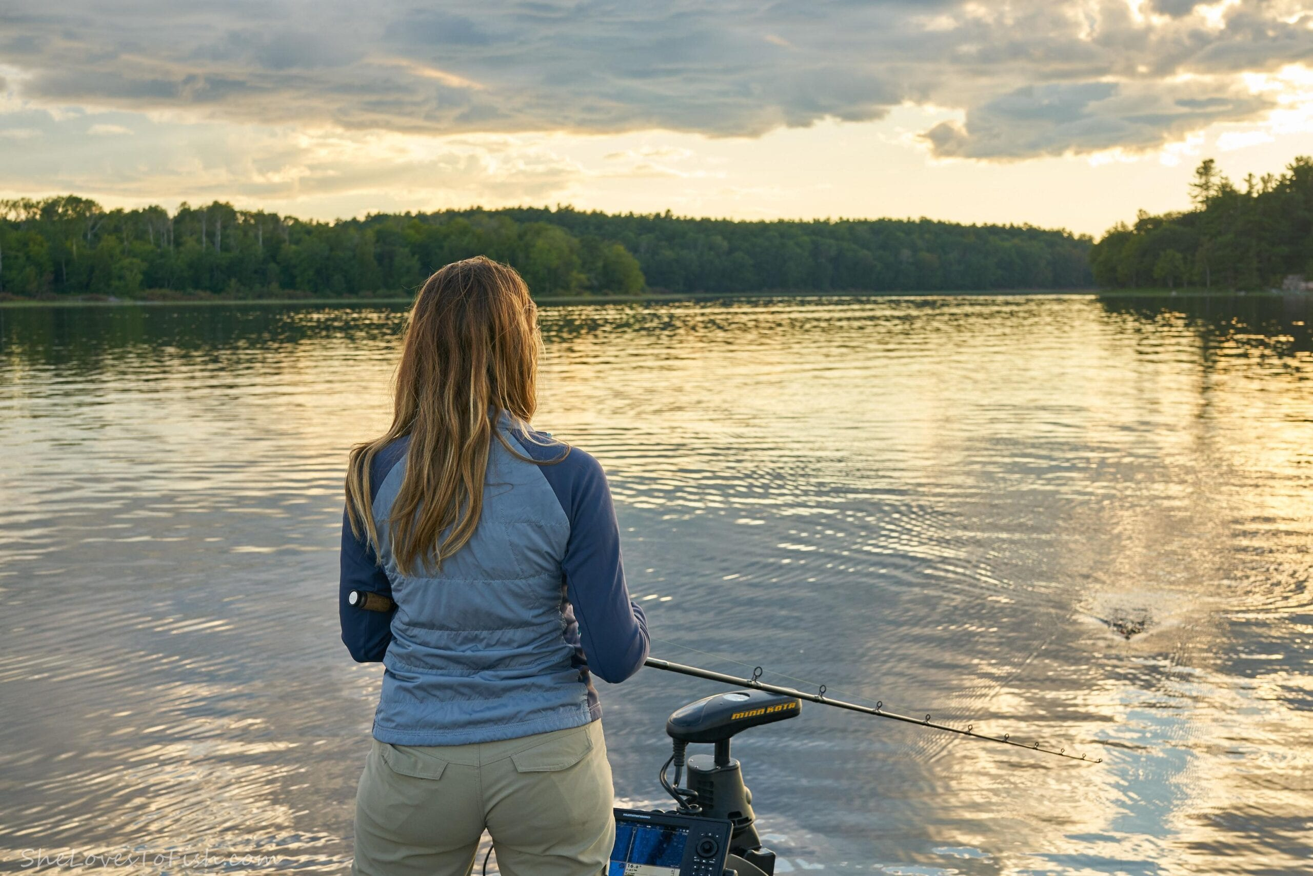 Ashley Rae, SheLovesToFish, French River Landscape, Northern Ontario Provincial Park, Fishing Canada