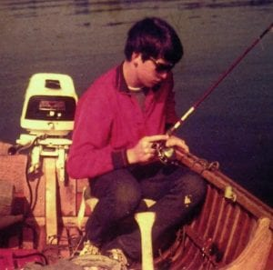 1966, French River, Fishing
