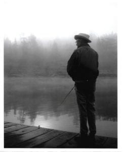 Dr. Robert M. Johnson, Fishing French River, Bear's Den Lodge
