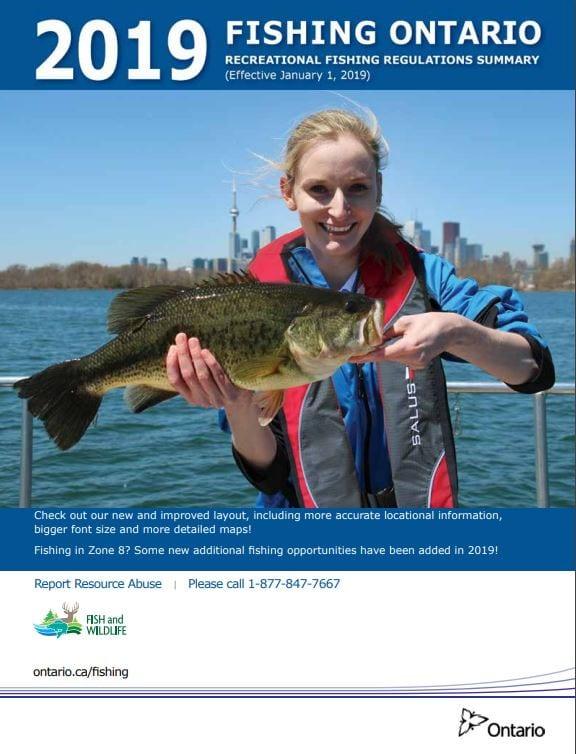Fishing Licenses - Bear's Den Lodge - Fishing French River