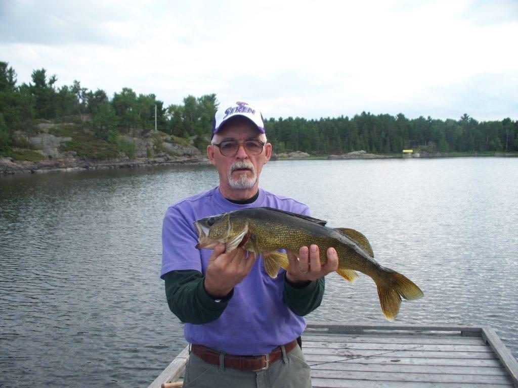 Walleye Fishing French River